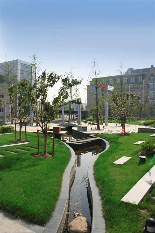 上海市银行卡产业园环境景观设计