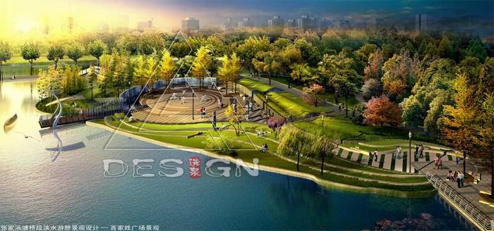 城市滨水带游憩景观规划设计--上海张家浜