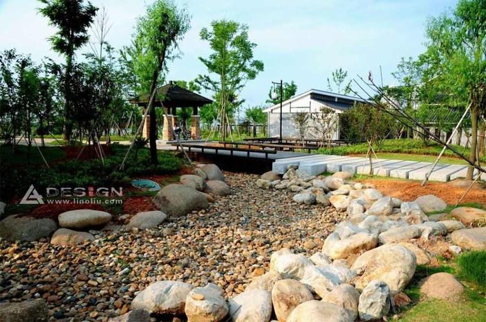鹰潭市滨江公园规划设计 上海选泉建筑景观规划设计